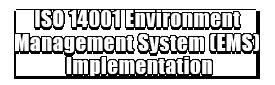 ISO 14001 Environment Management System (EMS) Implementation Logo